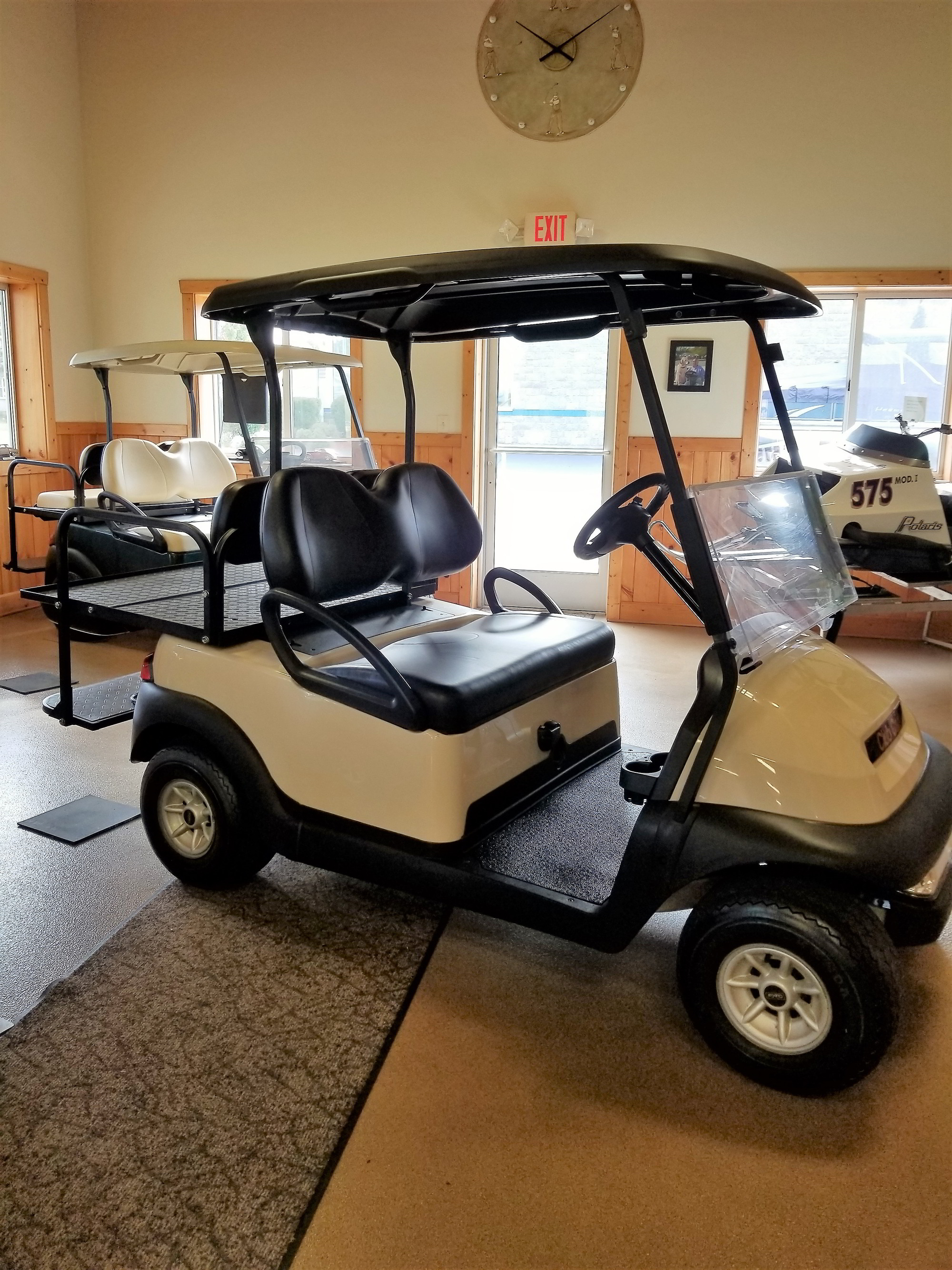Beige 4 Passenger Cart for sale in Wisconsin by Brown's Service