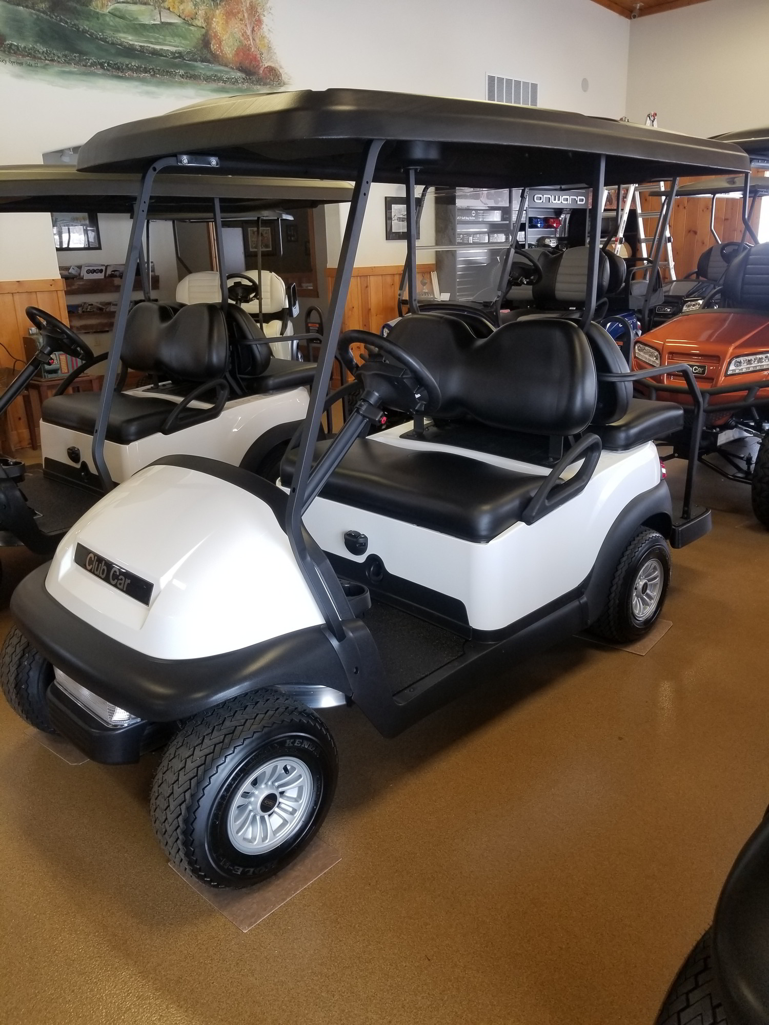 White and black passenger cart for sale in Wisconsin